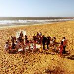 Casamento na praia - Noiva do Mar